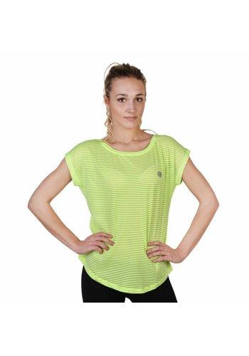 Elle Sport Dames T-shirt van Elle Sport - lime