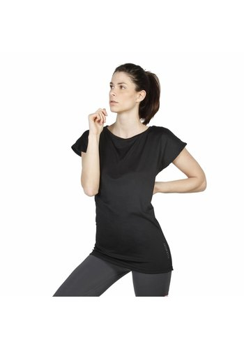 Elle Sport Dames T-shirt van Elle Sport -  zwart