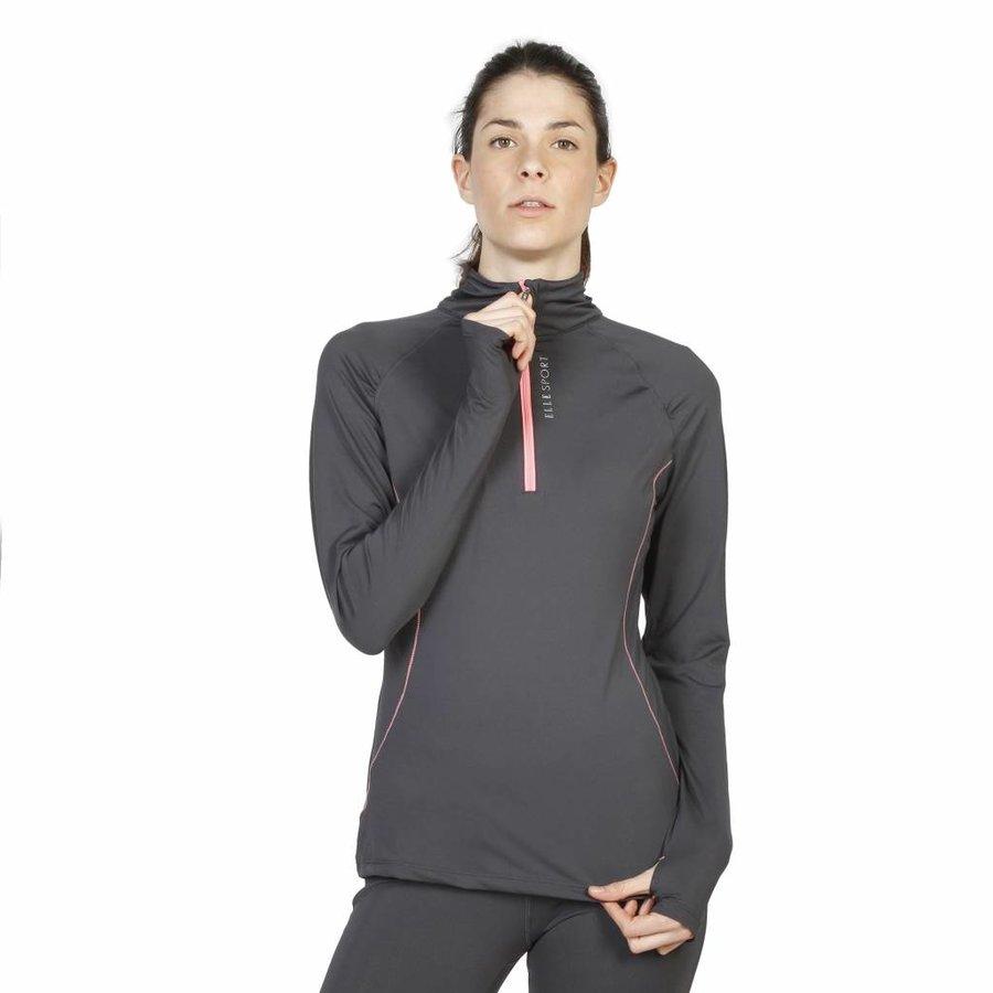 Damen Pullover von Elle Sport - anthrazit
