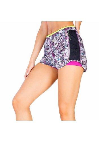 Elle Sport Dames Shorts van Elle Sport - paars