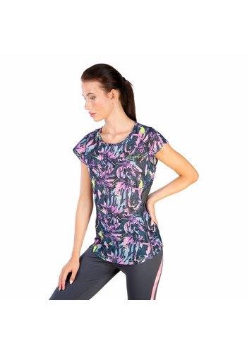 Elle Sport Dames T-shirt van Elle Sport - paars