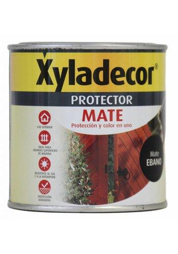 Xyladecor Beschermer XYladecor MATE kleur Ebony Mat 375ML
