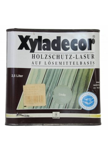 Xyladecor Xyladecor houtbescherming - glazuur op solventbasis, kleur Linde 2,5L