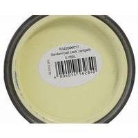 Zijdeglans verf - fluwelen matte glans - zacht geel - 750 ml