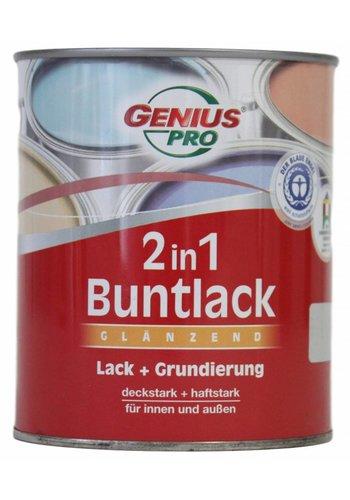 Genius Pro Vernis 2 in 1 glans, kleurlichtgrijs, 750ML