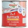 Genius Pro Hoogglans 2 in 1 verf - lichtgrijs - 375 ml