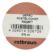 Grondverf - anti roest - roodbruin - 375 ml