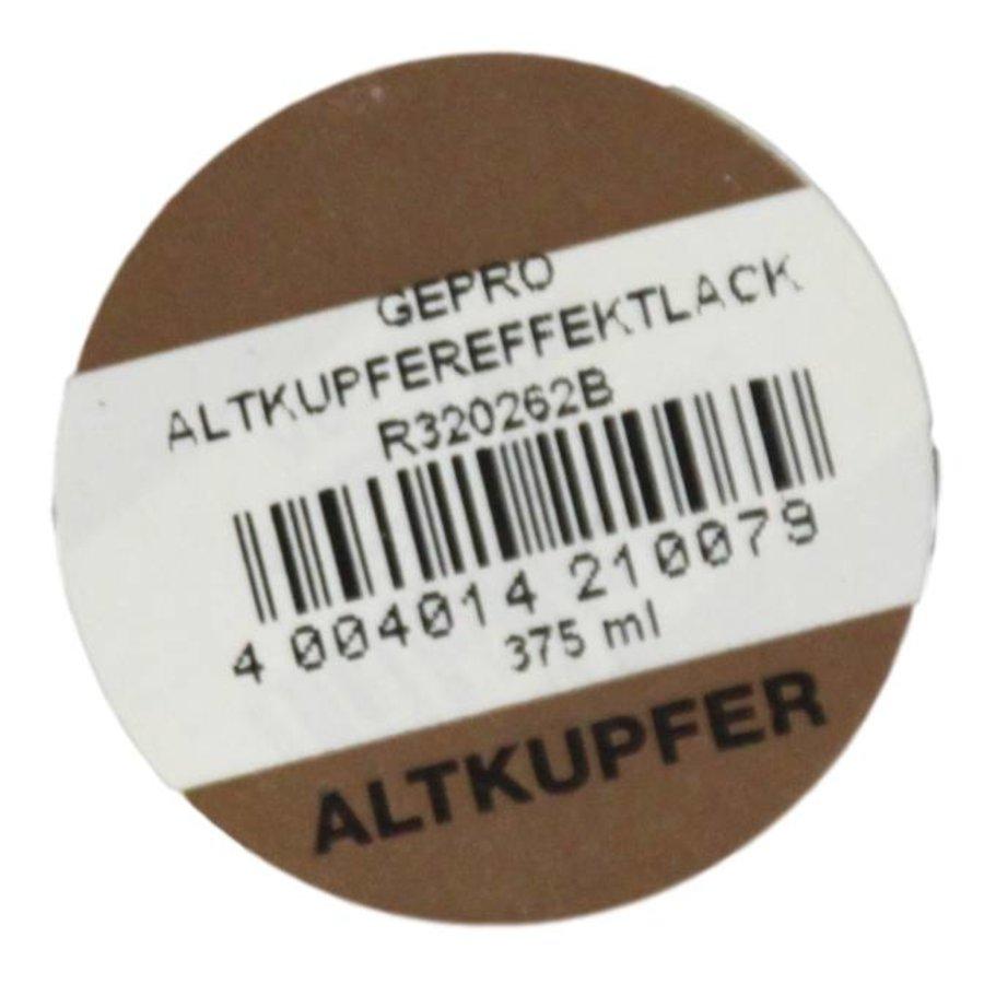 Kupfereffektfarbe, färben altes Kupfer, 375ML