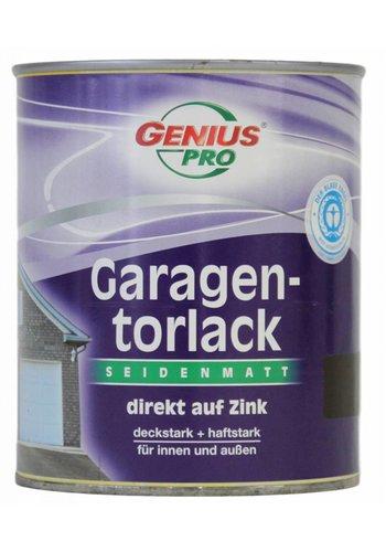 Genius Pro Garagedeur verf zijdeglans, kleur bruin, 750ML
