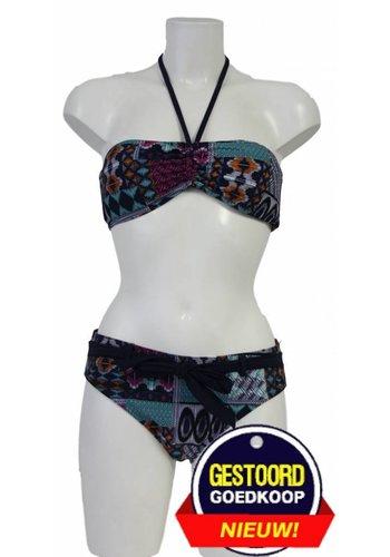 Neckermann Bandeau bikini met oosters motief