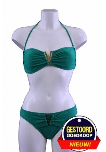 Neckermann Bikini V-bandeau groen