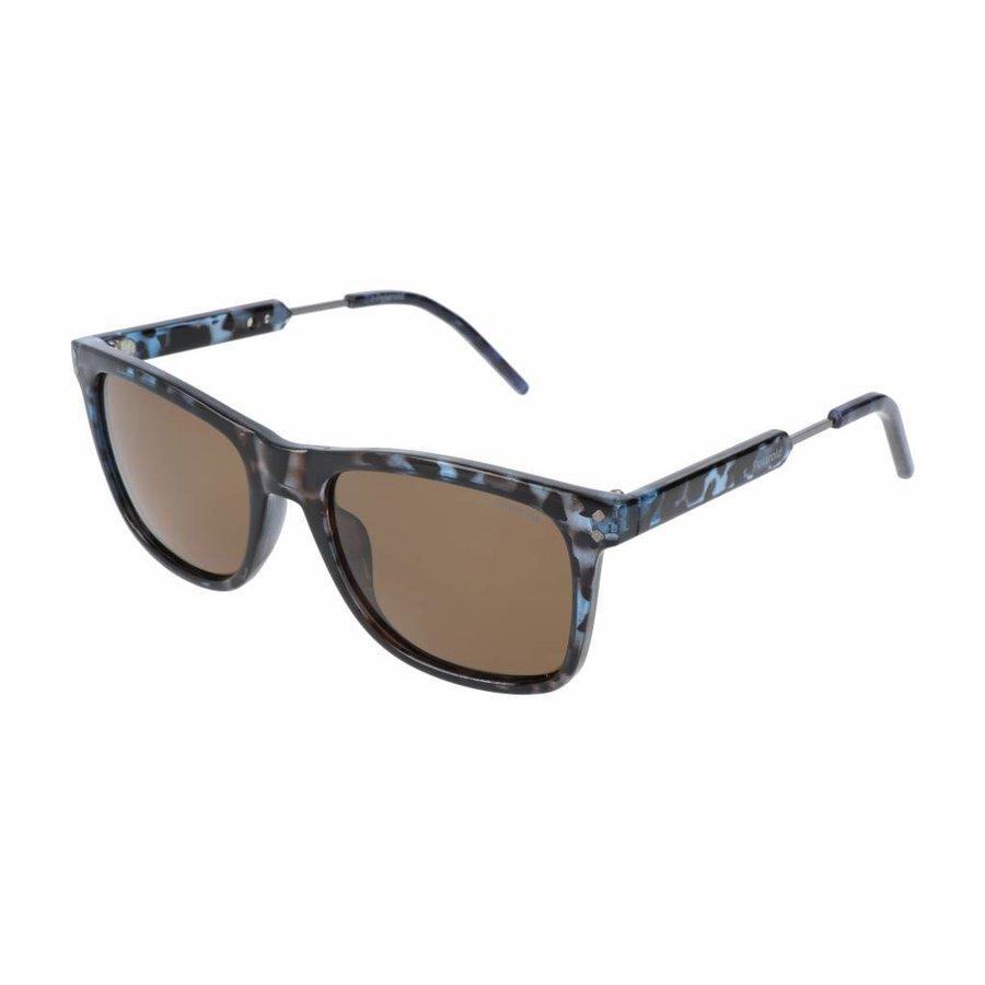Unisex Sonnenbrille - braun / blau