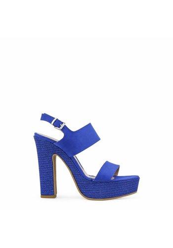 Paris Hilton Dames Open hoge hak van Paris Hilton - blauw