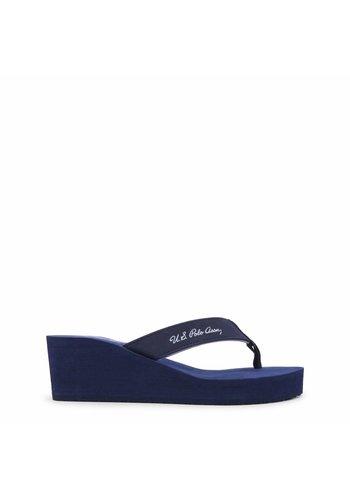 U.S. Polo Damen Flippers von US Polo - blau