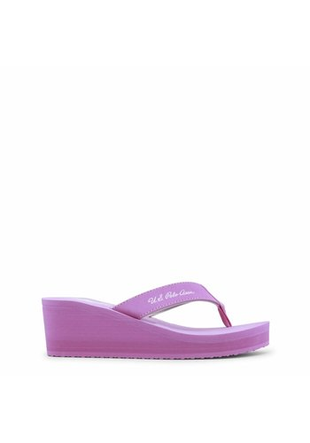U.S. Polo Damen Slipper von US Polo - pink