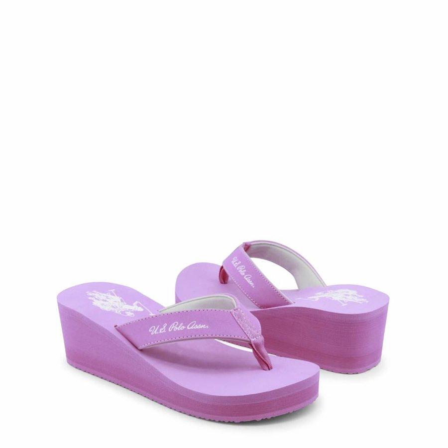 Damen Slipper von US Polo - pink