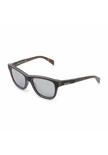 Diesel Unisex Diesel Sonnenbrille - braun / grau