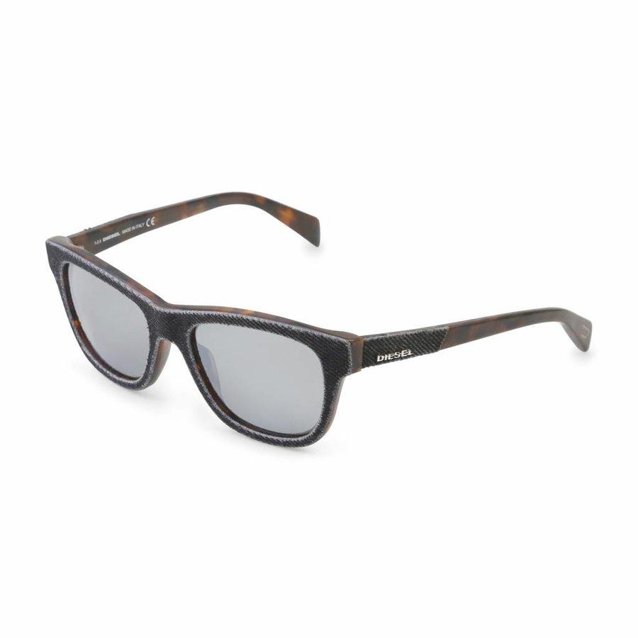 Unisex Diesel Sonnenbrille - braun / grau