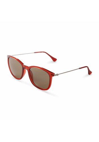 Calvin Klein Unisex Zonnebril van Calvin Klein - rood