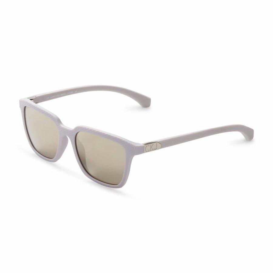 Unisex Sonnenbrille von Calvin Klein - grau / lila