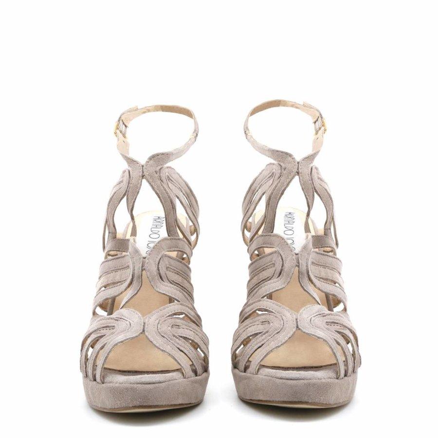 Offener High Heel von Arnaldo Toscani - Grau