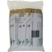 Bambus Essstäbchen japanischen Stil 100 Stück