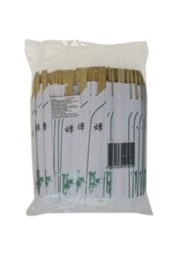 Welltop Bambus Essstäbchen japanischen Stil 100 Stück