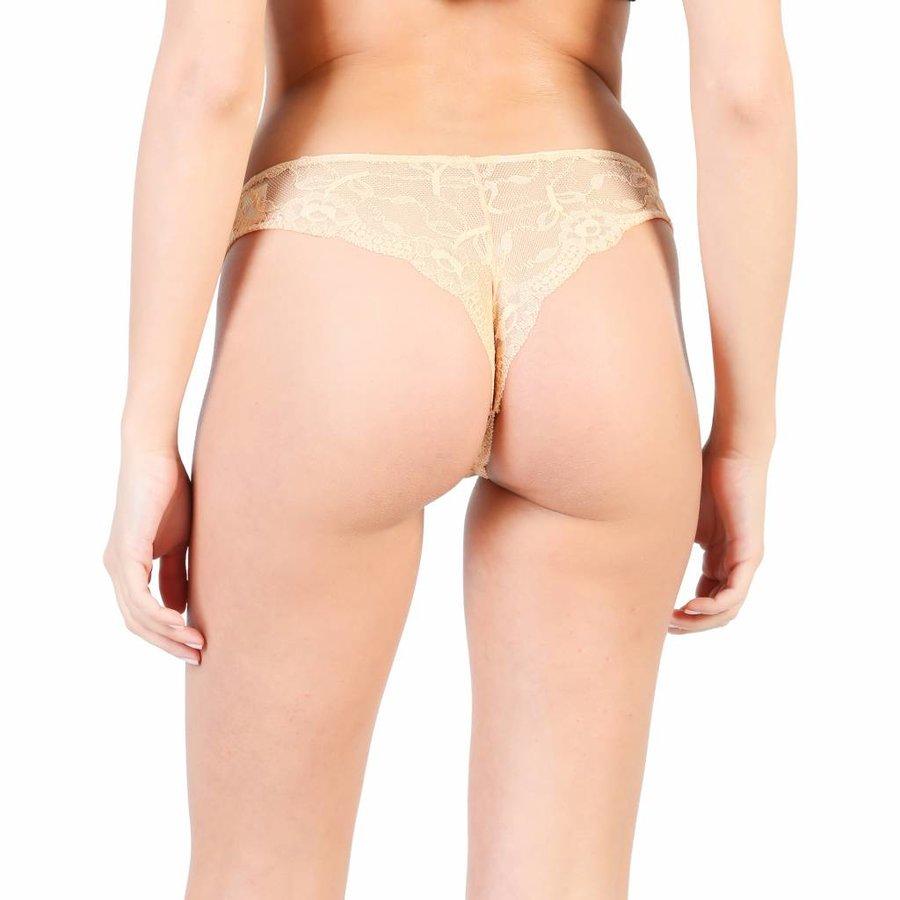 Damen String von Pierre Cardin LAIZE - beige