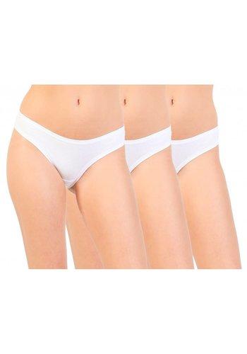Pierre Cardin underwear Slip Femme par Pierre Cardin 3pack - blanc