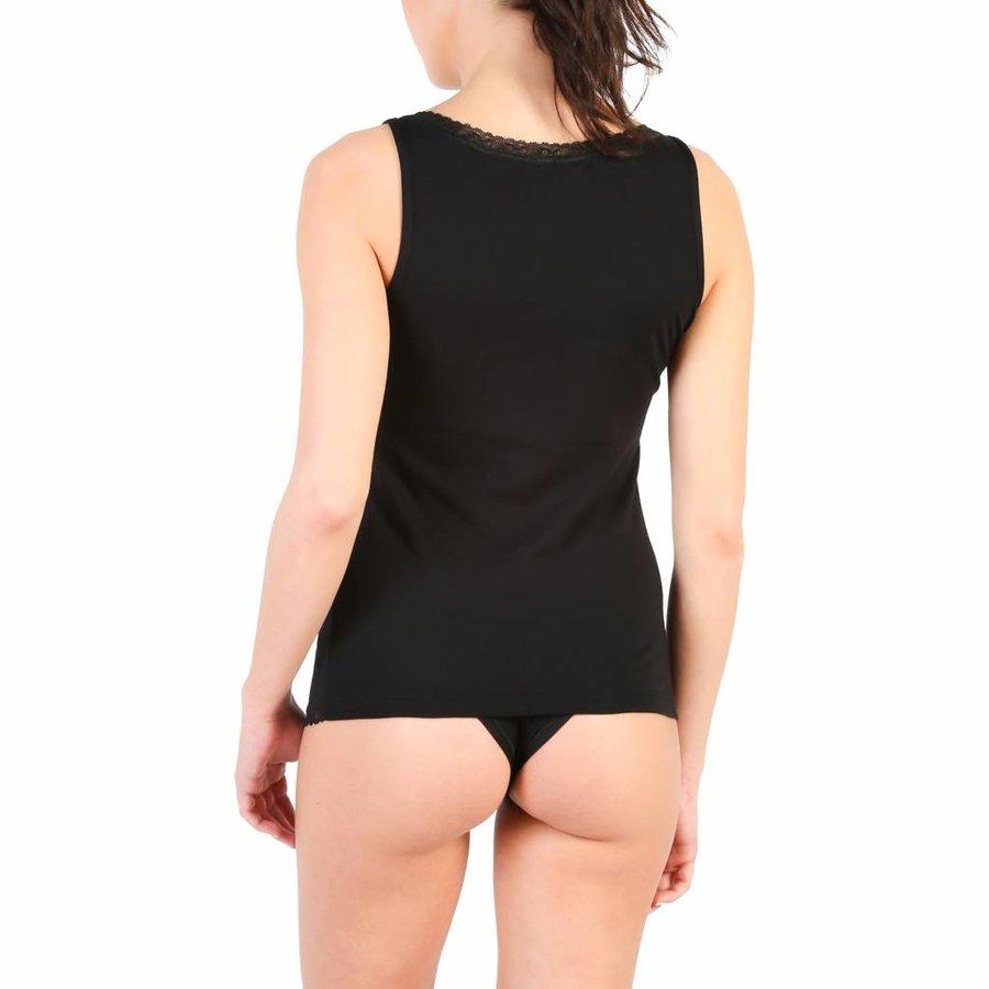 Unterhemd für Damen von Pierre Cardin BEGONIA - schwarz