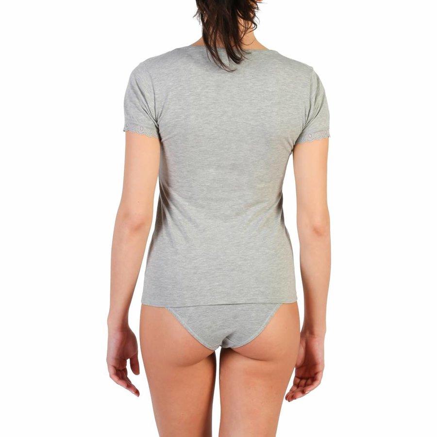 Damen T-Shirt von Pierre Cardin AZALEA - grau