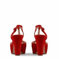 Open schoen van Arnaldo Toscani - rood