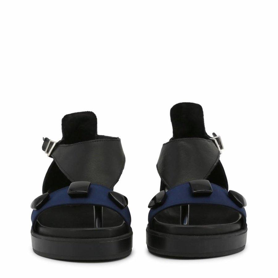 Sandalen van Ana Lublin VIOLETA - zwart/blauw