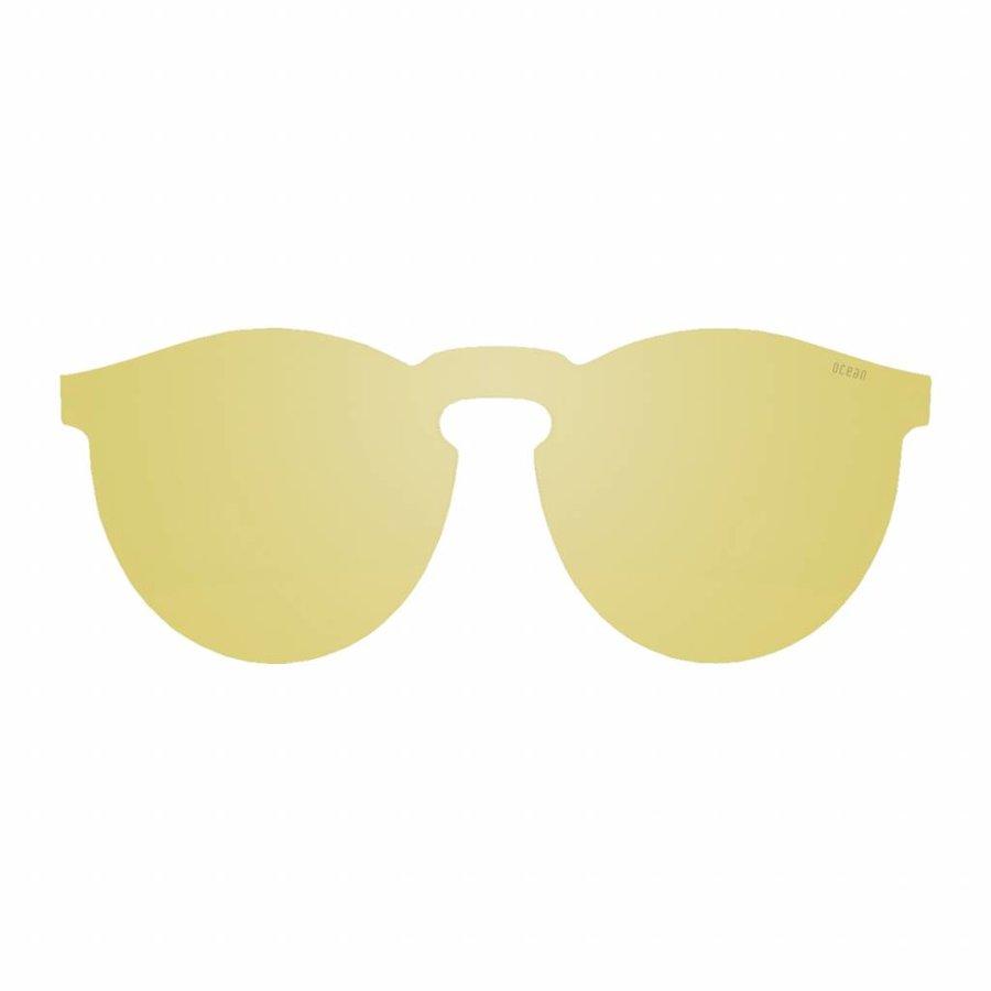 Unisex Sonnenbrille - gelb