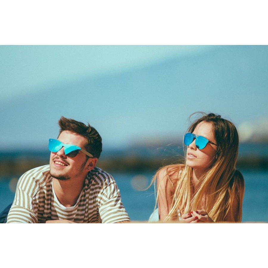 Unisex Sonnenbrille von Ocean FLORENCIA - blau