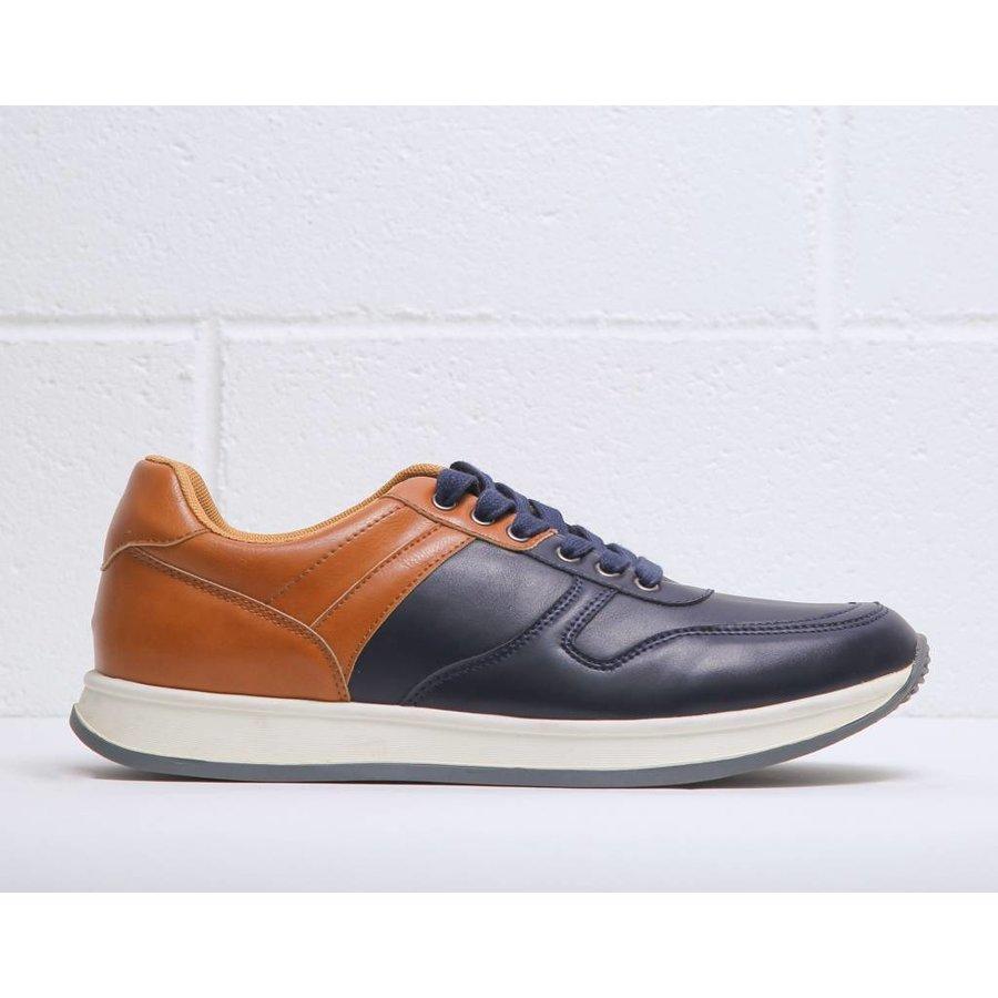 Sneaker von Duca di Morrone HARVIE - orange / blau