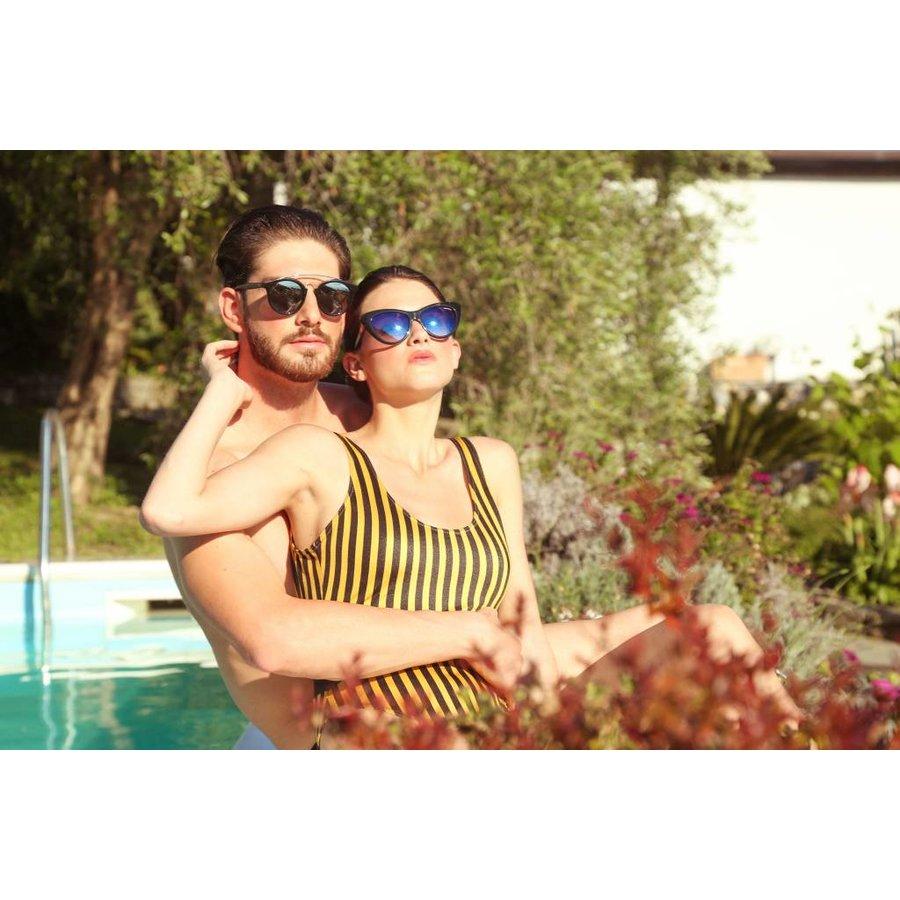 Sonnenbrille von Made in Italia LIGNANO - schwarz