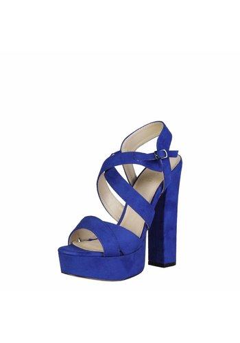 V 1969 Offener Stiefel von V 1969 DESIREE - blau