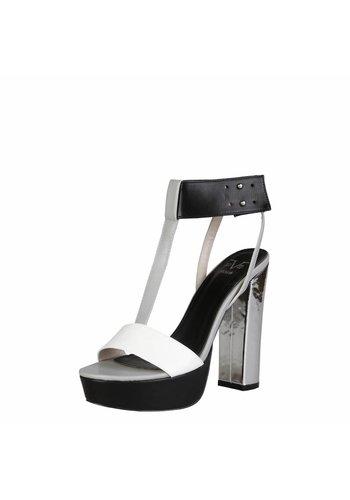 V 1969 Offener Schuh von V 1969 MELISANDE - schwarz / weiß