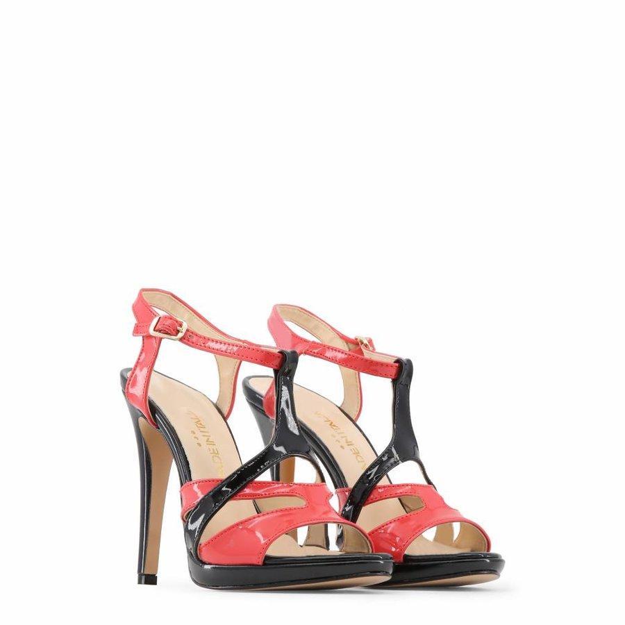 Offene High Heels von Made in Italia IOLANDA - schwarz / rot