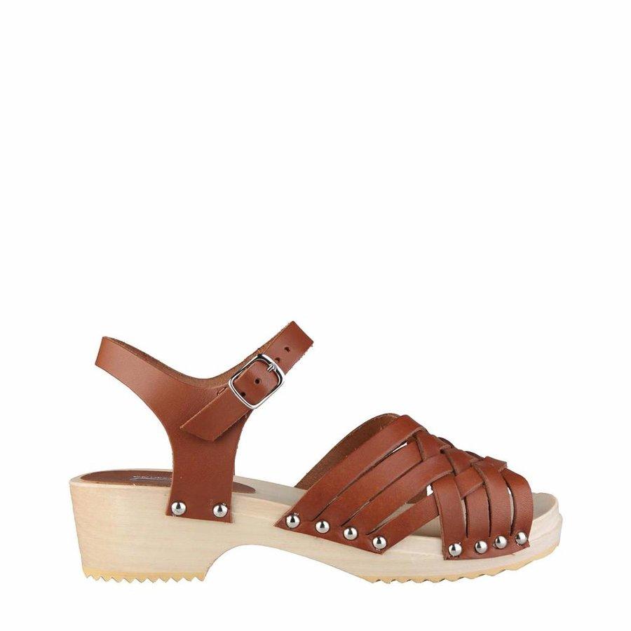 Sandaal van Ana Lublin IRIS - bruin
