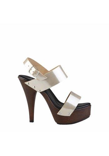 V 1969 Offener Schuh von V 1969 PAULETTE - Gold