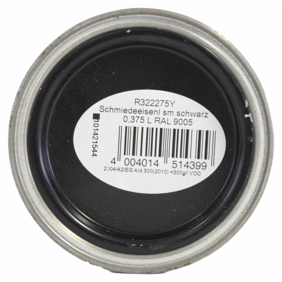 Smeedijzer verf - zwart - RAL 9005 - 375 ml