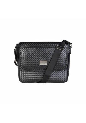 V 1969 Heren Crossbody bag van V 1969 - zwart