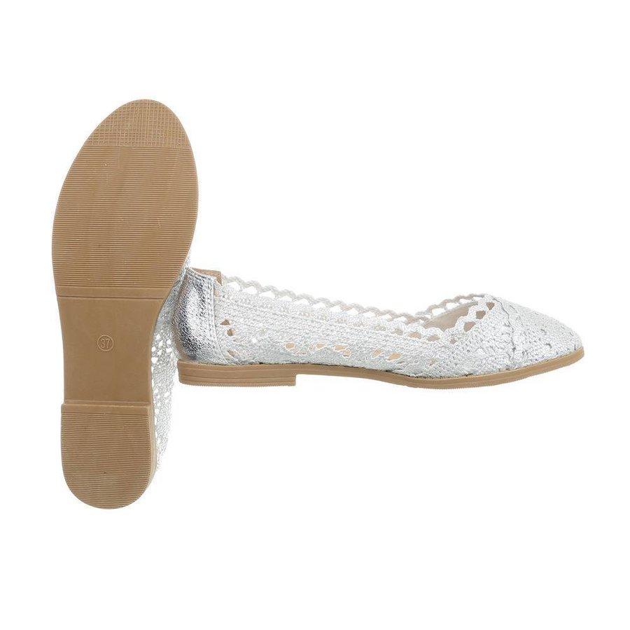 Damen Ballerinas - Silber