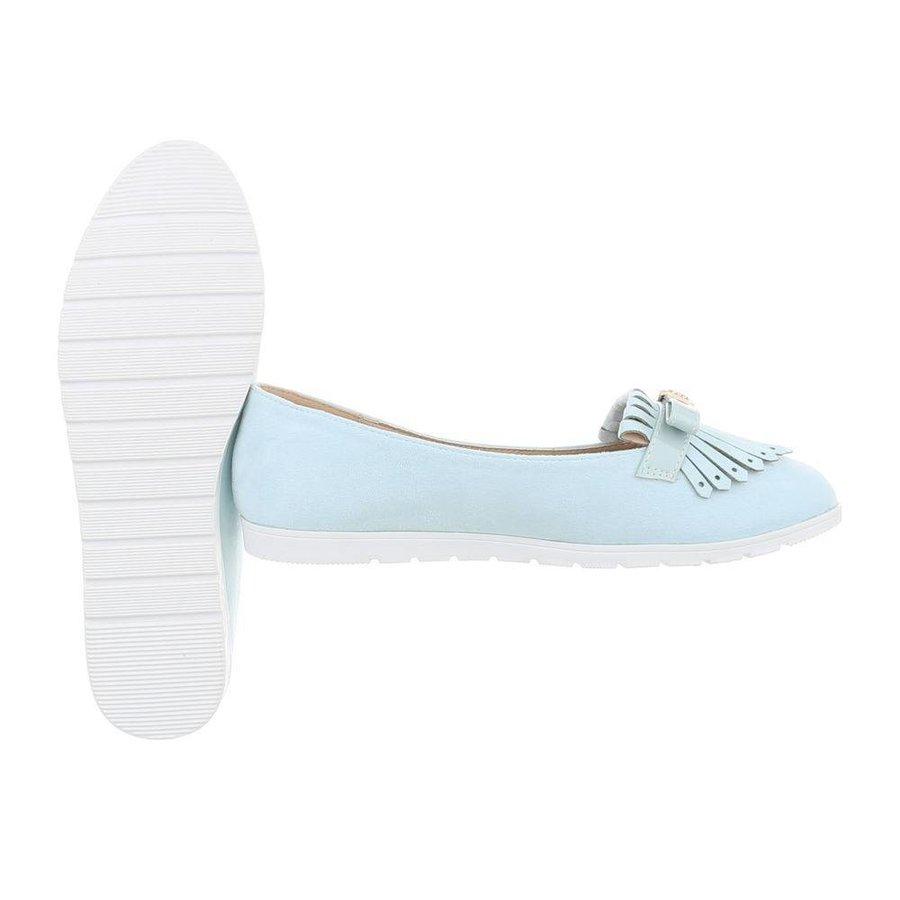 Damen Ballerinas - blau