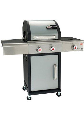Landmann Gasbarbecue - PTS 2.1 - 3 branders - zilver - (Alleen afhalen)