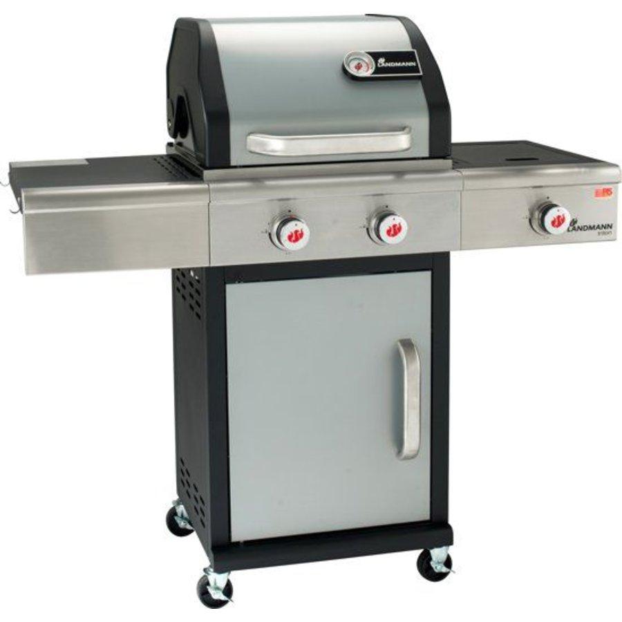 Gasbarbecue - PTS 2.1 - 3 branders - zilver - (Alleen afhalen)