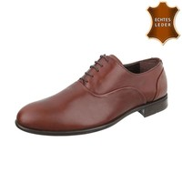 Leder Herren Businessschuhe von COOLWALK tan