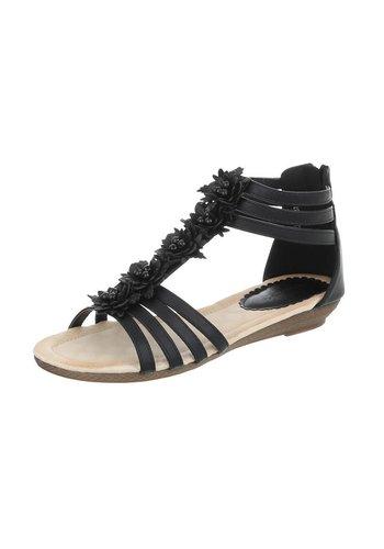 Neckermann Damen Flache Sandalen - black